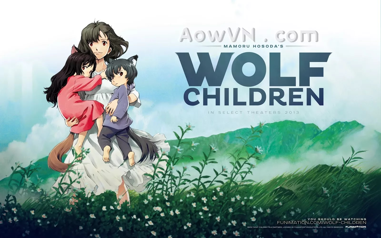 dua con cu soi aowvn - [ Full HD ] Ookami Kodomo No Ame To Yuki | Anime Vietsub Online - Những Đứa Con Của Sói Ame và Yuki