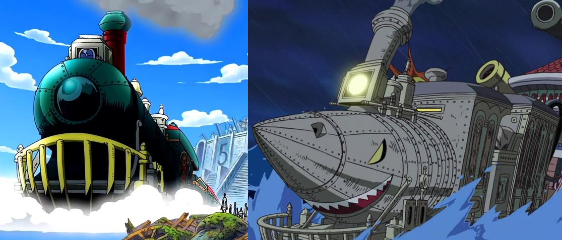 """kereta laut """"Rocketman"""".one piece"""