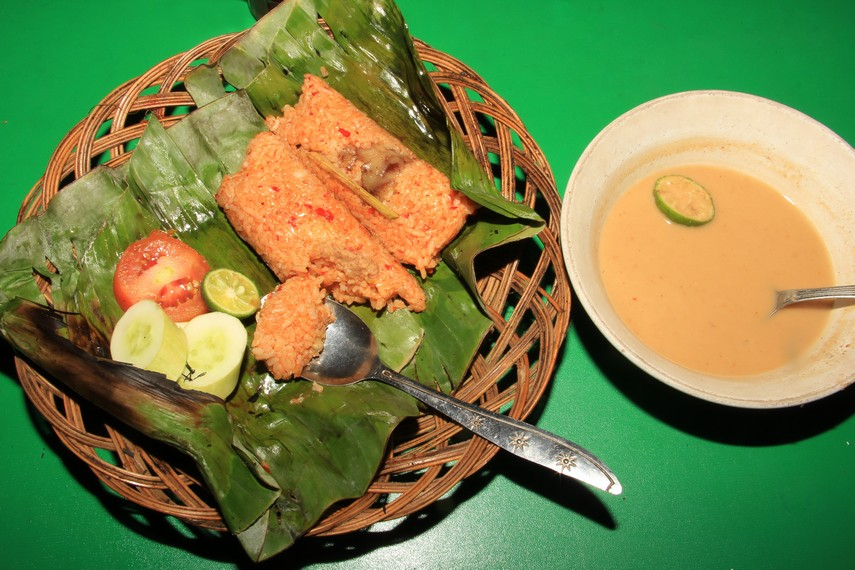 Nasi Bakar Sum-sum Khas Serang