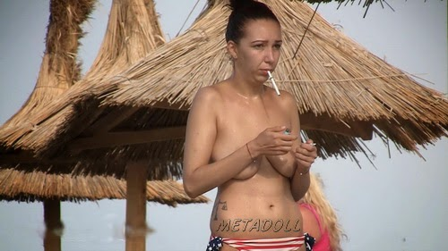 Hidden Cam Of Nude Beauty Sunbathing On Beach (NudeBeach sb14011-14016)