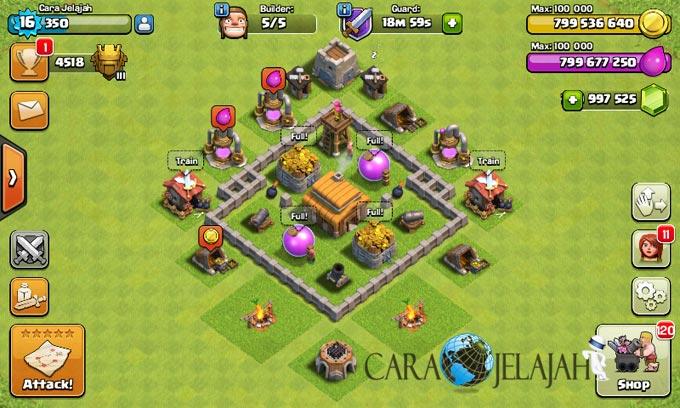 Desain Base Town Hall 3 Terbaik Dan Terbaru Clash Of Clans 25