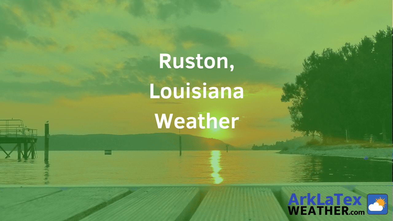 Ruston, Louisiana Weather Forecast in Lincoln Parish