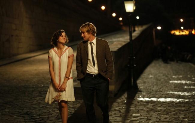O północy w Paryżu, film, komedia romantyczna, walentynki