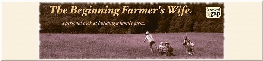 The Beginning Farmer's Wife