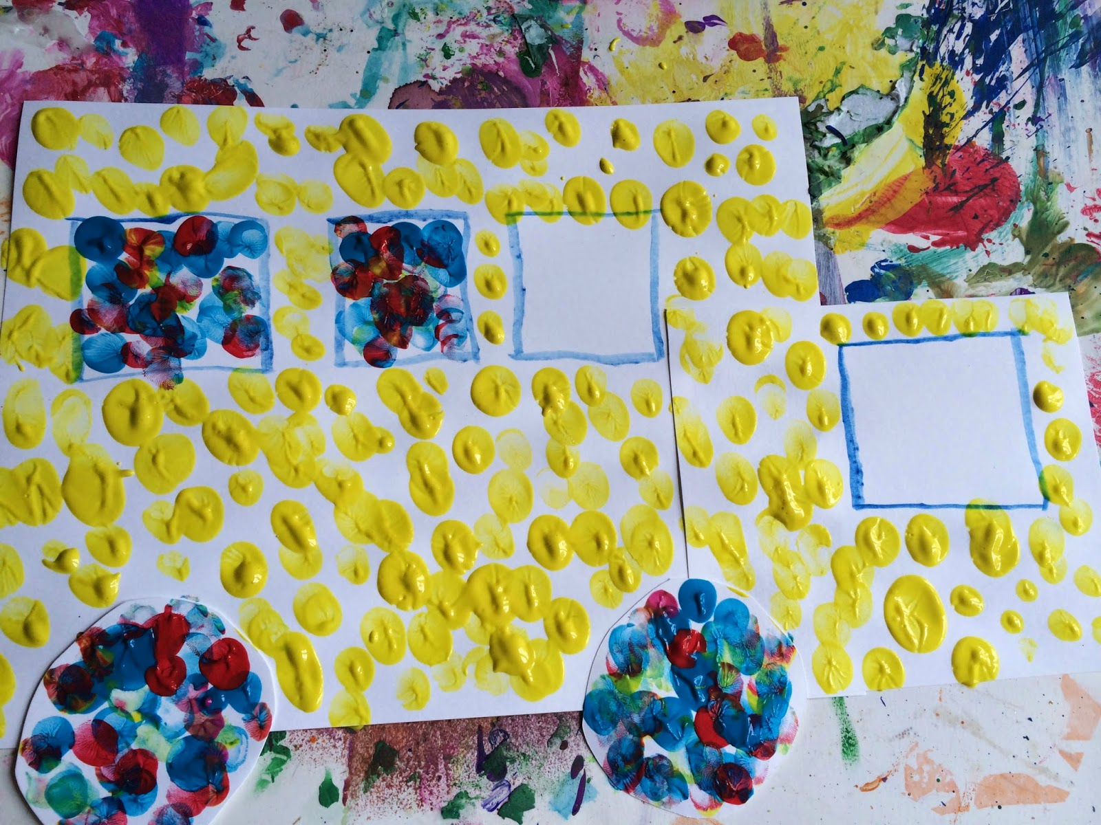 Mini Monets And Mommies Back To School Parent Child Art Activity