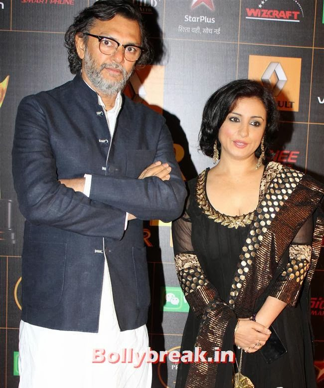 Rakyesh Omprakash Mahra and Divya Dutta, Star Guild Awards 2014 Pics