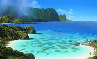 cuadros-realistas-playas-bonitas