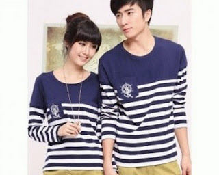 model baju couple lengan panjang