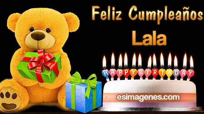 Feliz cumpleaños Lala