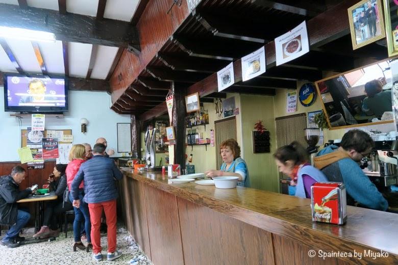 La Caraqueña 北スペインのムール貝バル