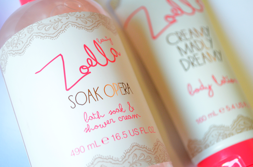 zoella beauty soap and glory topshop