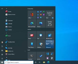 Ενεργοποιήσετε το νέο Start Menu των Windows 10