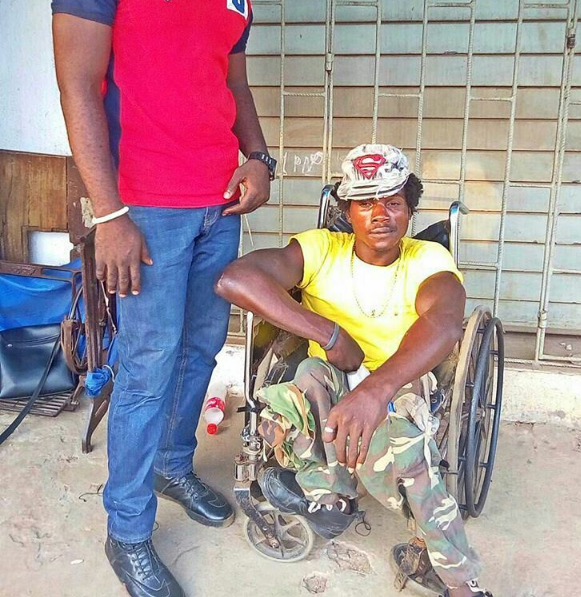 Meet The Crippled Man That Was Brutalized By Military Men In Onitsha