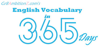 English Vocabulary on Daily Basis