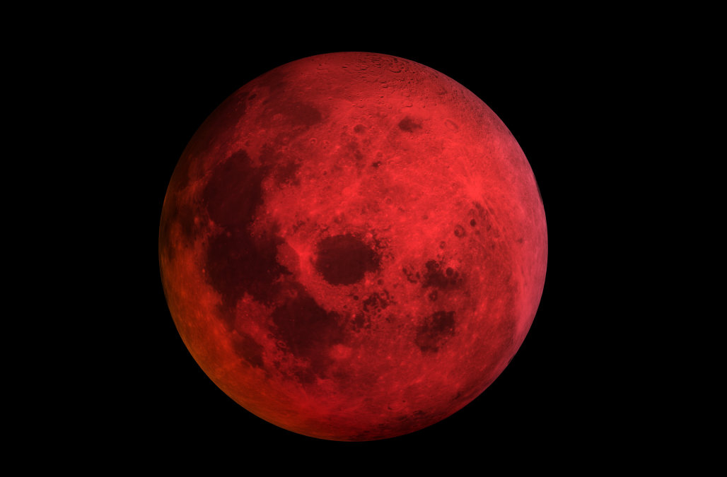 Super Blue Blood Moon, Patahkah Teori Kaum Bumi Datar