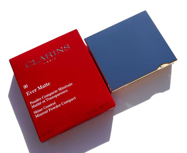CLARINS  Ever Matte Poudre Compacte Minérale Matité et Transparence - Shine Control Mineral Powder Compact