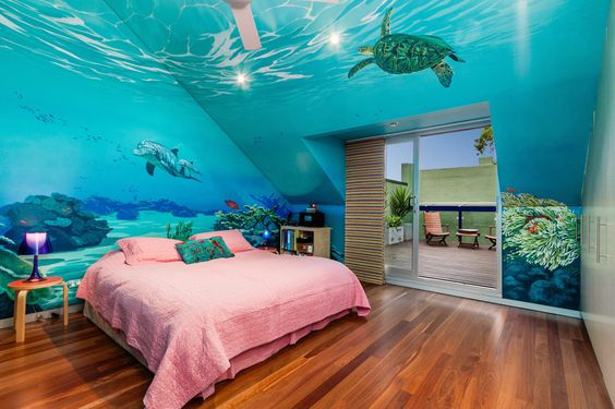 sea-inspired bedrooms