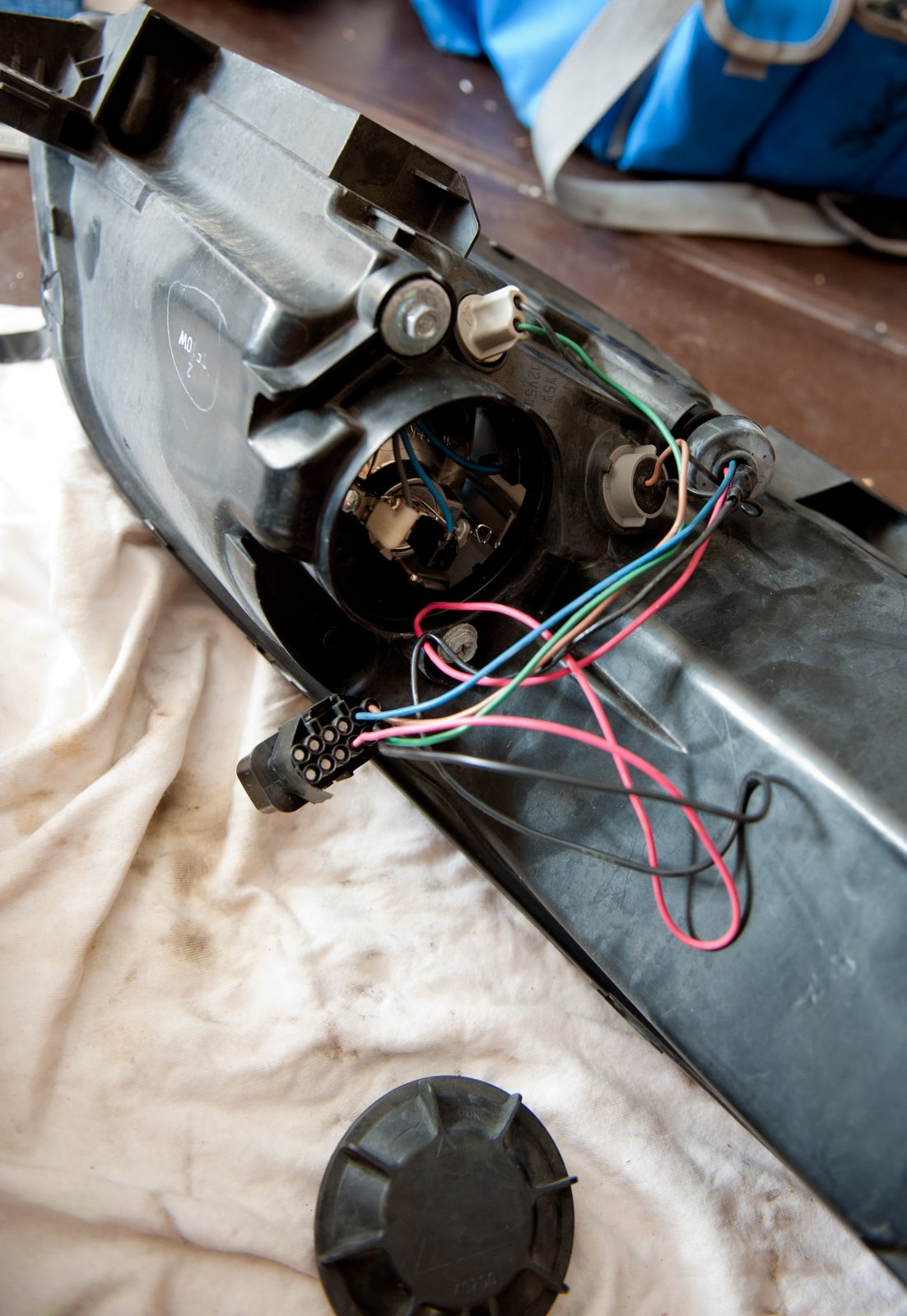 medium resolution of adm chassis to light wiring harness above