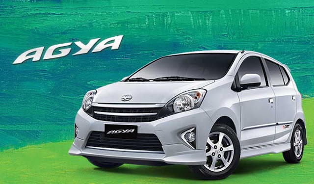 Spesifikasi Harga Kredit & Cicilan Toyota Agya Surabaya
