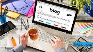 alfisbu cara mendapat uang dari internet blog
