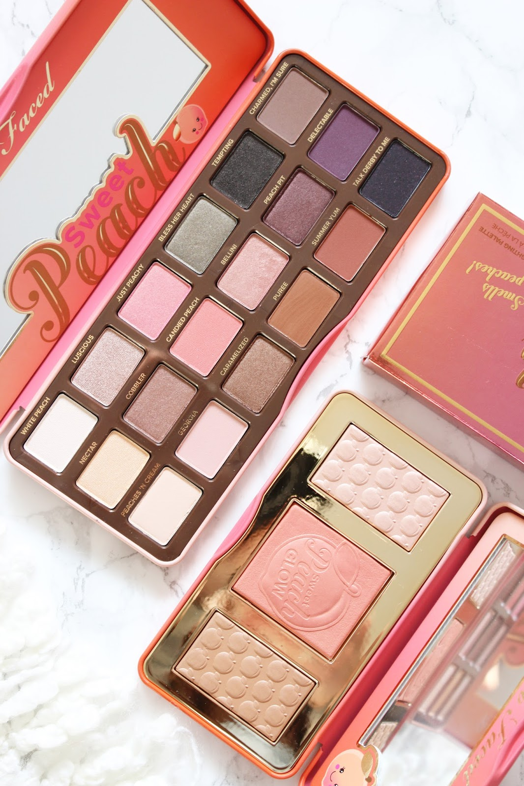 Too Faced's Sweet Peach Eyeshadow & Glow Palette