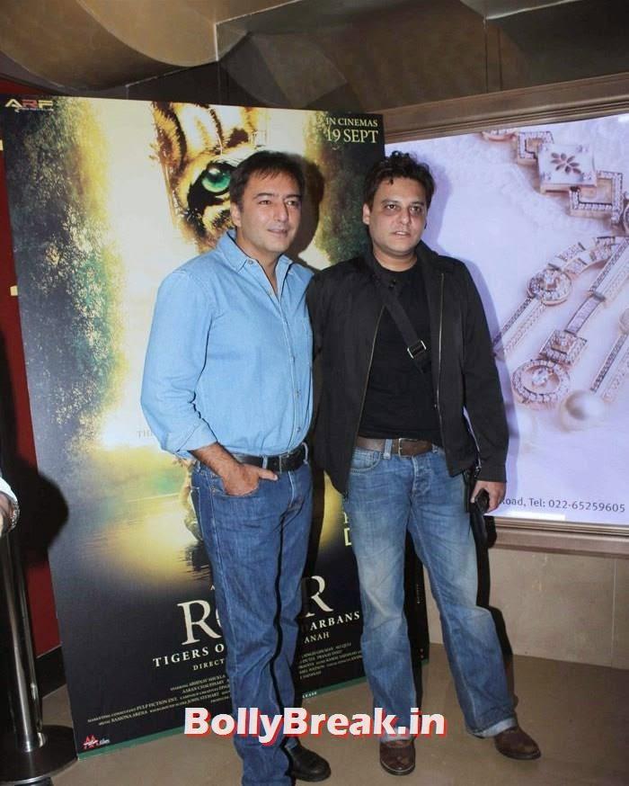 Kamal Sadanah, Abis Rizvi, Celebs at 'Roar' Movie First Look Launch