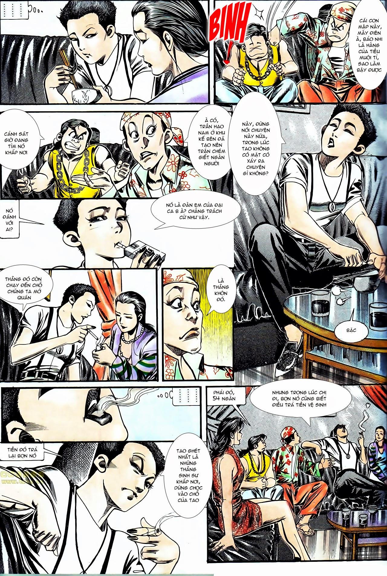 Người Trong Giang Hồ chapter 130: cô ta đến từ giang hồ trang 9