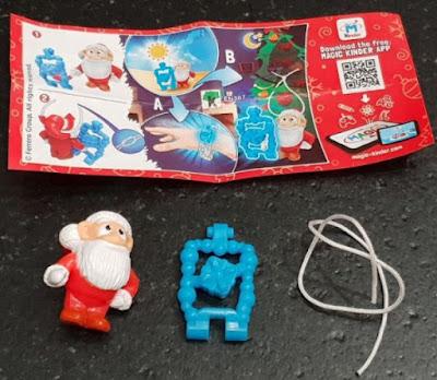 Игрушечный Дед Мороз