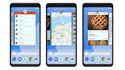 Gesture Android 9.0 Pie
