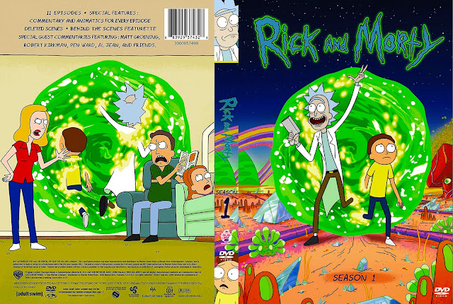 Rick And Morty Season 1 DVD Cover