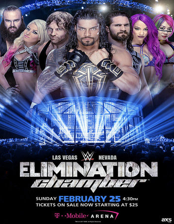 WWE Elimination Chamber 2018 PPV 480p WEBRip