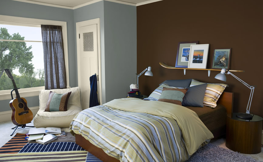 Color Your World: Ideal Colors for Teen's Bedroom on Beige Teen Bedroom  id=78291