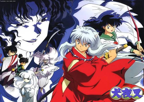 Inuyasha - Anime Tokoh Utama Menggunakan Pedang