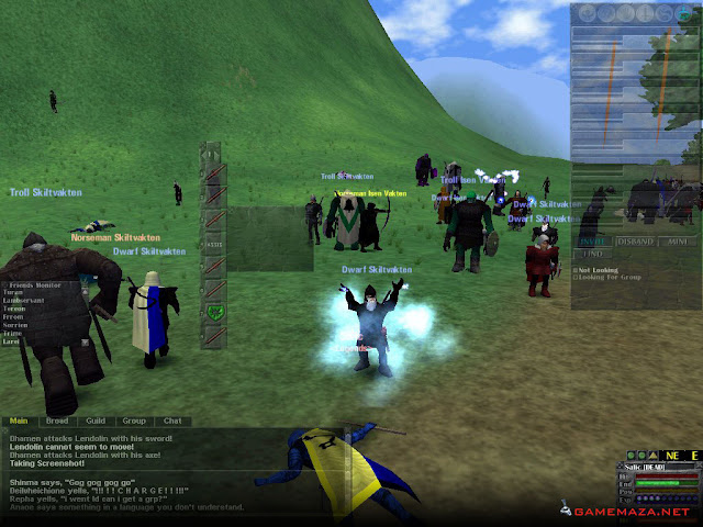 Dark Age of Camelot Gameplay Screenshot 1