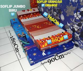 Sofa lipat inoac standard dan sofa lipat inoac jumbo Inoac ekafoam