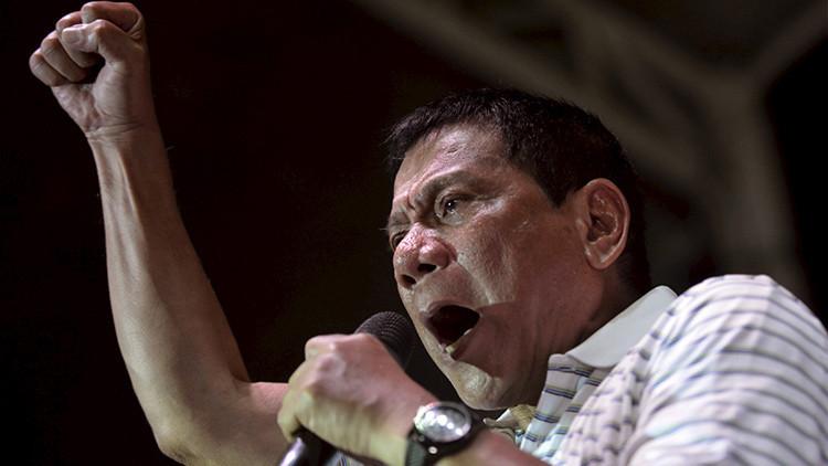 """""""Soy el Hitler filipino"""": Duterte promete exterminar a todos los drogadictos del país"""