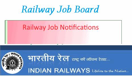latest railway job notification
