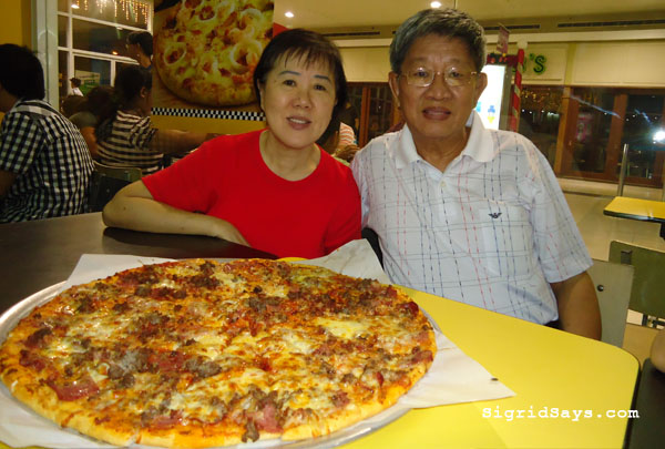 Yellow Cab Pizza Bacolod