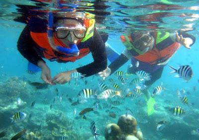 wisata pulau tidung, keindahan pulau tidung, foto terbaru pulau tidung