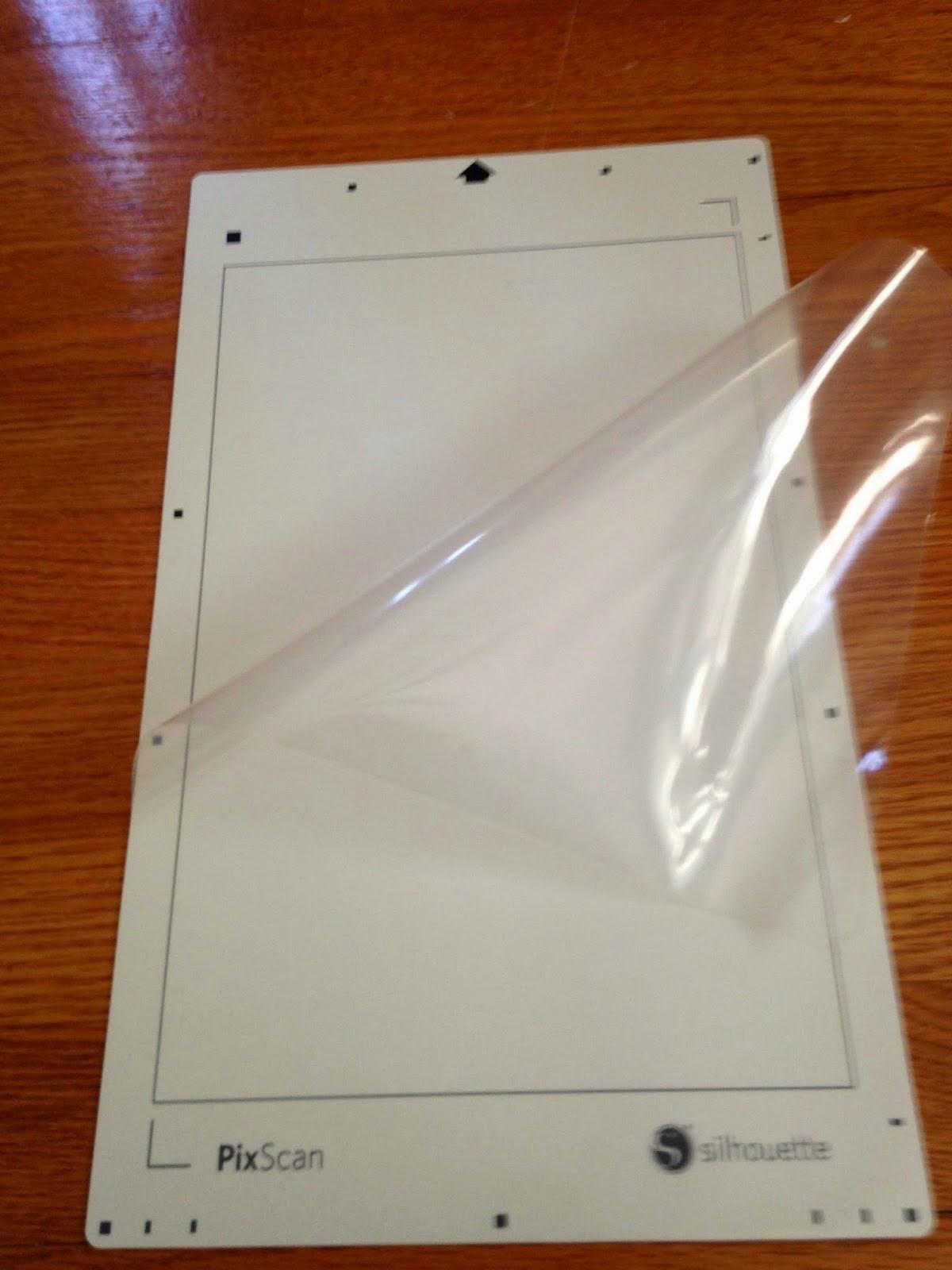 Silhouette Pixscan, beginner, tutorial, Silhouette Studio, protective sheet