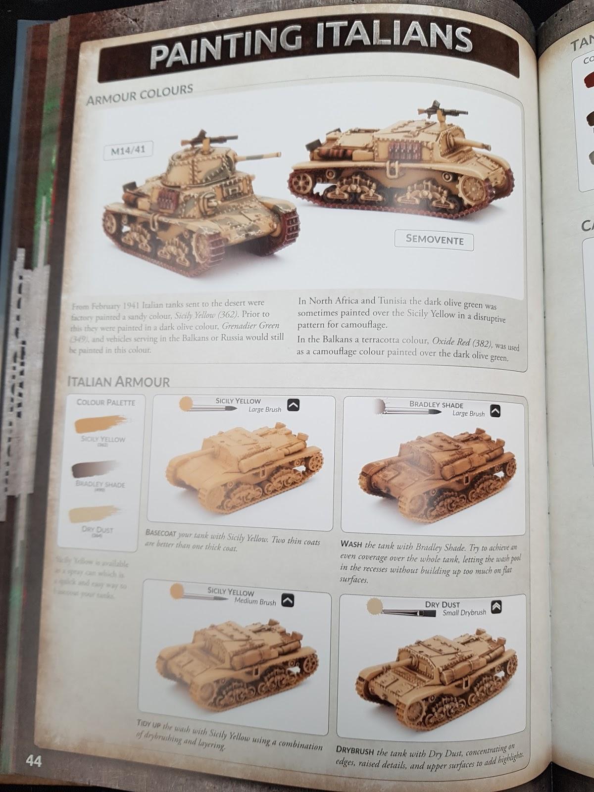 Dibdab's Hobby Blog: Avanti Italian Forces in North Africa