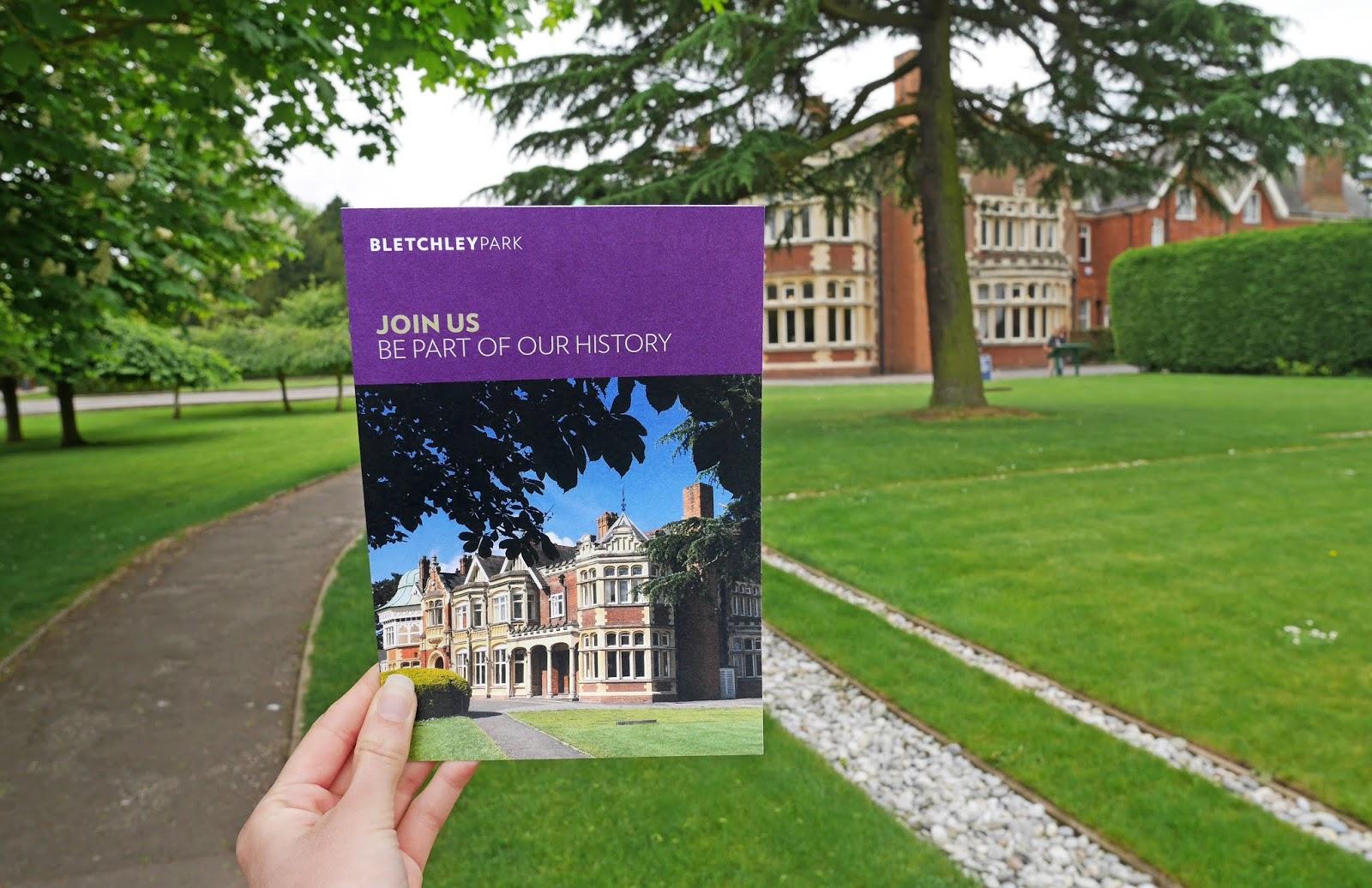 Bletchley Park leaflet