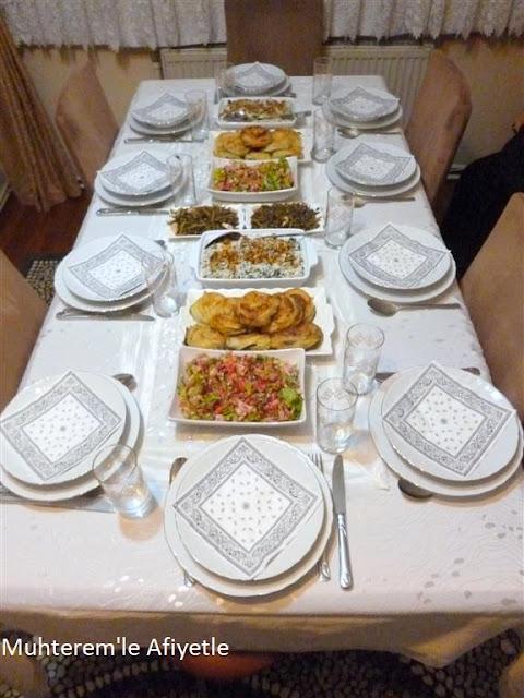 akşam yemeği masası resimleri