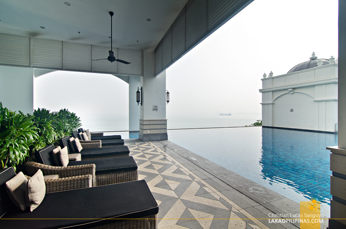 E&O Hotel Penang Pool Area