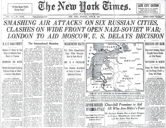 NY Times 23 June 1941 worldwartwo.filminspector.com