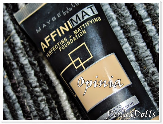 Maybelline AFFINIMAT - Opinia
