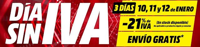 Top 40 ofertas Día sin IVA de Media Markt