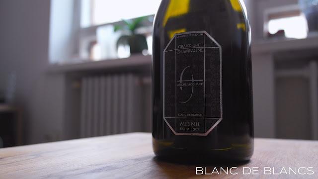 André Jacquart & Filsin Mesnil Expérience Grand Cru Blanc de Blancs - www.blancdeblancs.fi