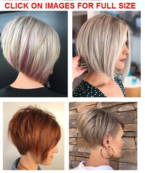 34 Easy Short Stacked Bob Haircuts for Thin Hair To Copy In ...