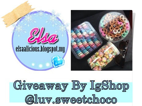 GIVEAWAY BY IG SHOP @luv.sweet.choco